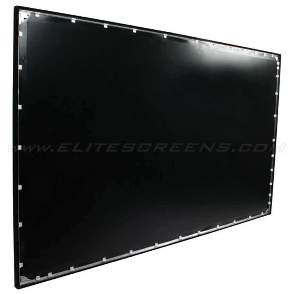 elite screens rahmen leinwand ez frame heimkino. Black Bedroom Furniture Sets. Home Design Ideas