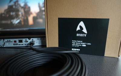 AVINITY Optisch, aktives HDMI-Kabel 30m für 4K inkl. HDR