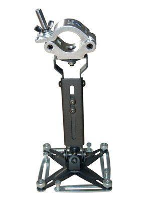 Unicol universaler Beamerhalter (23-30 cm) bis 12kg mit Rohrschelle GKUT1