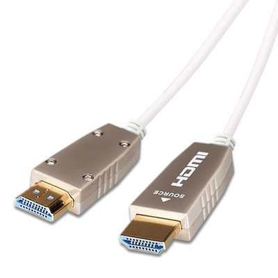 celexon UHD Fibre HDMI 2.1 Kabel - Weiß